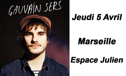 1 place unique debout pour Gauvain Sers, le jeudi 05 avril 2018 à 20h30 à 16 € à lEspace Julien de Marseille