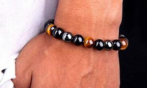 Bracelet composé de 3 types de pierres