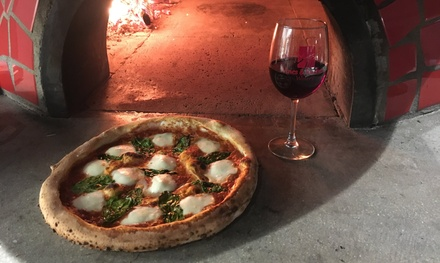 $18 for Bottle of Wine and Choice of Pizza at Vines & Rushes Winery ($34 Value)