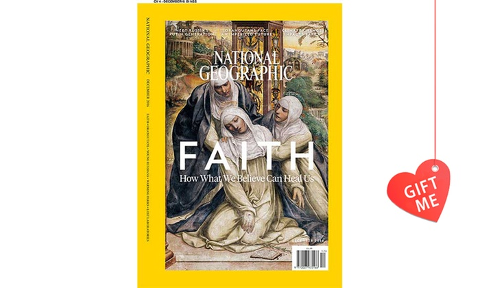National Geographic Magazine: $51.75 for a One-Year National Geographic Magazine Subscription, Includes Nationwide Delivery