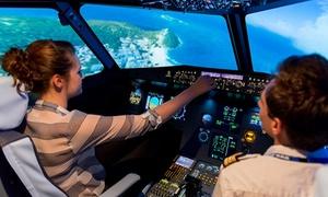 Aviasim Toulouse: Pilotage d'un Airbus A320 à bord d'un simulateur de vol pendant 50, 70 ou 120 minutes dès 89 € chez Aviasim Toulouse