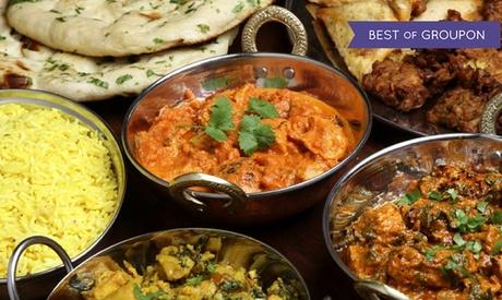 Menú hindú para 2 con aperitivo, entrante, principal, postre y bebida desde 19,95 € en Jaipur El Puerto de Santa María Oferta en Groupon