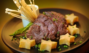 AsiaSF: Three-Course Cal-Asian Dinner Show for Two at AsiaSF (Up to 44% Off). Two Options Available.