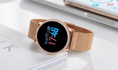 Smartwatch Timothy Stone, adornado con cristales de Swarovski® (envío gratuito)