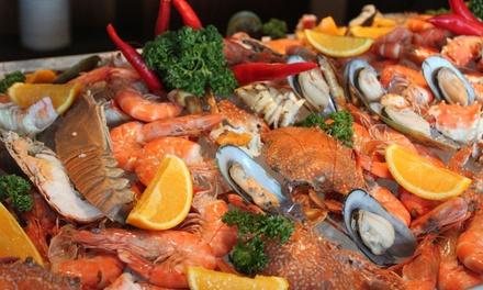 Saturday Seafood Buffet at Taste of Marine by the Poolside at the 5* Dubai Marine Beach Resort & Spa (Up to 53% Off)