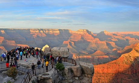 $89 for a Full-Day Premier Bus Tour of Grand Canyon's South Rim at Grand Canyon Destinations ($199 Value) e496766c-fd12-4e1f-a56d-e52af3c926b9