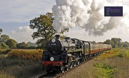 Steam Railway Train Journey for Adults, Children or Families with Bluebell Railway (Up to 32% Off)