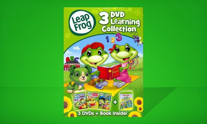 LeapFrog: 3-DVD Learning Collection: $17.99 for a LeapFrog: 3-DVD Learning Collection ($29.98 List Price). Free Shipping and Returns.