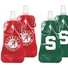 Reusable NCAA Foldable Water Bottles (2-Pack)