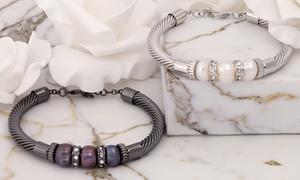 Bracelet Mestige orné de Swarovski®