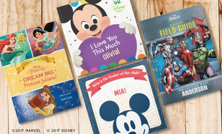 One, Two, or Three Personalized Children's Disney Books from Put Me in the Story (Up to 43% Off)