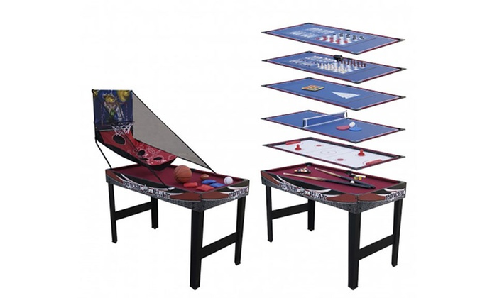 Groupon Goods Global GmbH: 12-in-1 Basketball Game Table With Free Delivery