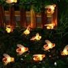 LED Honey Bee Solar Lights