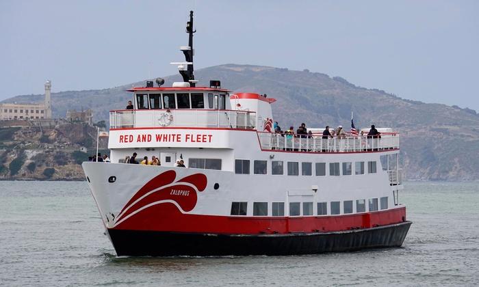 San Francisco Bay Cruises Red And White Fleet Groupon