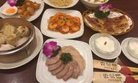 バラエティ―豊かな本格中華料理が楽しめる≪エビチリや点心盛り合せなど全8品コース≫予約不要 @好記園