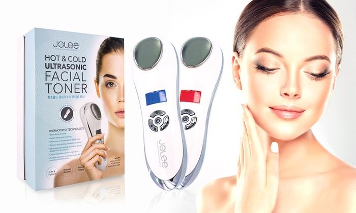 At home ultrasonic facial