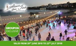 Bondi Winter Magic: Entry to an Outdoor Ice Skating Rink Session for a Child ($10) or Adult ($12) with Bondi Winter Magic (Up to $22 Value)