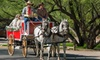 Lazy D Rockin' P Ranch LLC - Downtown Wickenburg, Ortega Parking Lot (behind Anita's): Horse-Drawn Carriage Tour for Two, Four, or Six from Lazy D Rockin' P Ranch Wagons & Teams (Up to 49% Off)