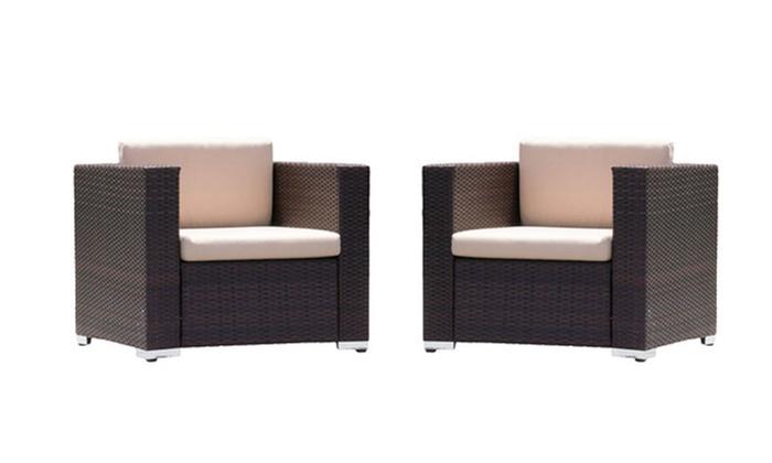 Westlake Outdoor Club Chair 2 Pack