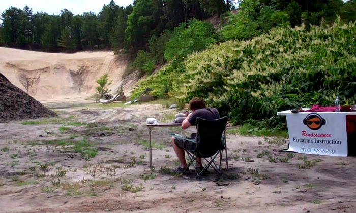 Renaissance Firearms Instruction - in Mitchel's Field Athletic Complex: 2-Hour Historic Military Firearm-Shooting Experience for One or Two at Renaissance Firearms Instruction (Up to 72% Off)