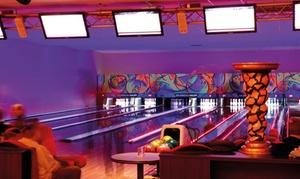 Bowling Palace: 1 partie de bowling pour 2 personnes avec location de chaussures et boissons à 13 € au Bowling Palace