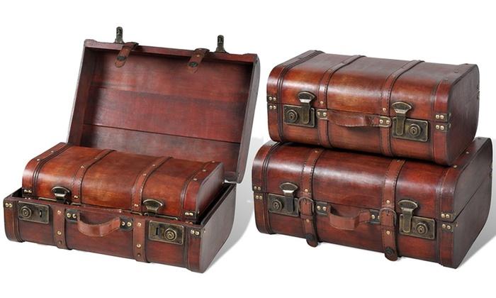 jusqu 39 10 coffres de rangement groupon. Black Bedroom Furniture Sets. Home Design Ideas