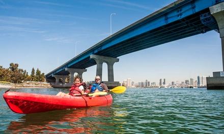 Coronado Double Kayak Urban Tour or 90-Minute Double Kayak Rental from Bike & Kayak Tours (Up to 57% Off)
