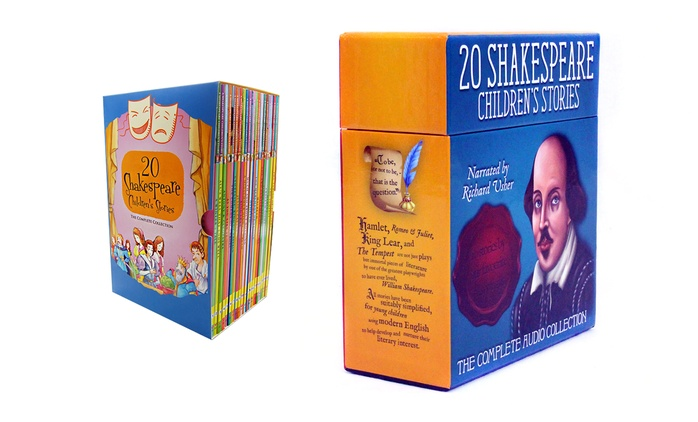 20 Books or Audiobook CDs With Shakespeare Children's Stories from AED 129 (Up to 63% Off)