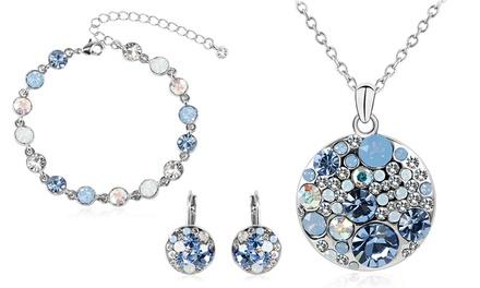 Bijoux Crystal & Co. au choix ornées de cristaux Swarovski®