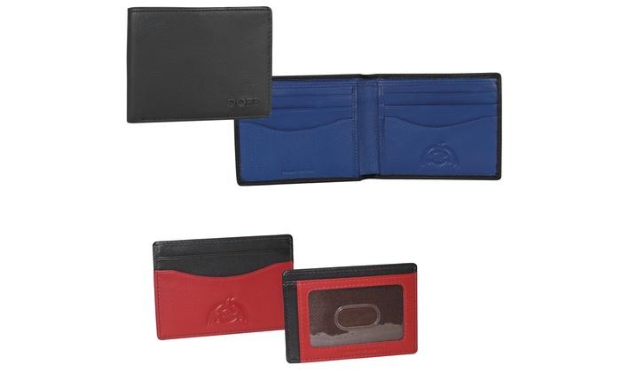 Tribeca Leather RFID-Blocking Wallets