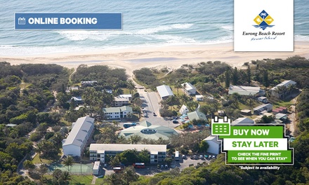 Fraser Island: 2-5 Nights for 2-4 People with Wine and Optional Brekky at Eurong Beach Resort; $50 Off Barge Transfers