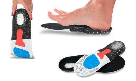 1, 2 ou 3 paires de semelles orthopédiques pour le sport en gel
