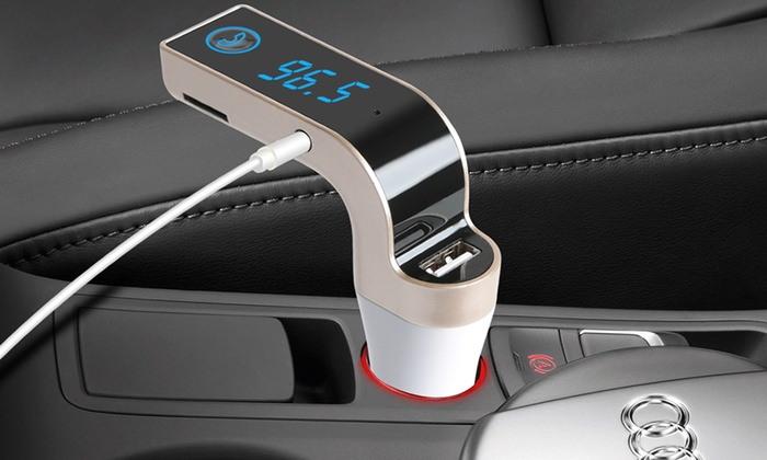 iMounTEK Bluetooth FM Car Transmitter for £12.99