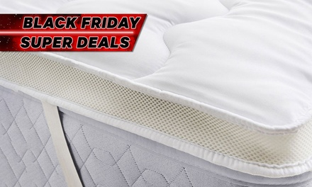 From $29 for 1000GSM Airmax Bamboo Mattress Topper (Don't Pay up To $189)