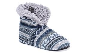 MUK LUKS Men's Slipper Boots (Size L/XL)