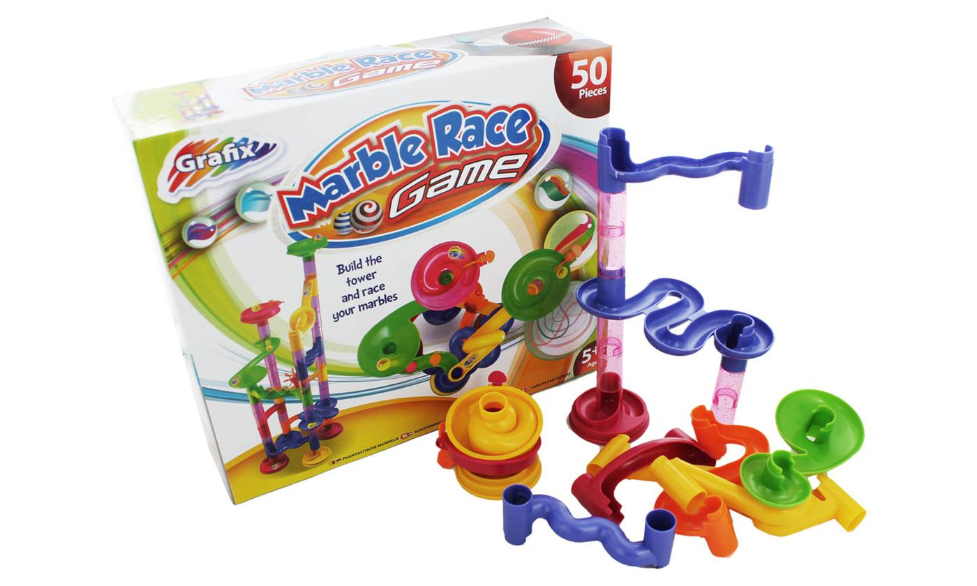 One or Two Grafix Marble Race Games