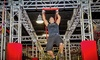 Ninja Lounge - Central North Miami: Obstacle Onslaught Spectator Admission for One, Two, or Four with Pizza at Ninja Lounge (Up to 44% Off)