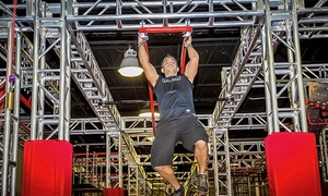Ninja Lounge: Obstacle Onslaught Spectator Admission for One, Two, or Four with Pizza at Ninja Lounge (Up to 44% Off)