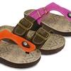 Muk Luks Women's Duo Strap or Thong Terra Turf Sandals