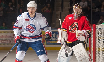 $15 for Premium 100-Level Seats to a Rochester Americans Home Game on March 22 or 29 ($30.65 Value)