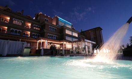 Circuito spa para dos personas con opción a masaje relajante en pareja desde 29,99 € en Granada Palace Spa
