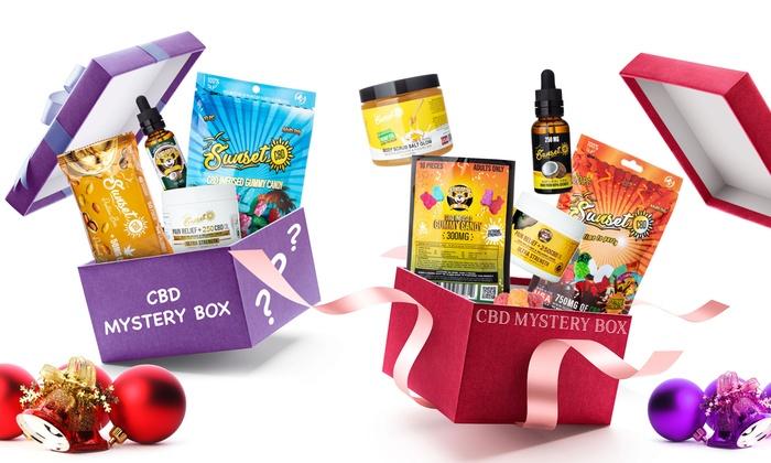 Up To 74% Off on 100% Organic CBD Mystery Box | Groupon Goods