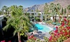 The Palm Mountain Resort & Spa - Palm Springs, CA: 2- or 3-Night Stay for 4 in a Standard Room with Water Park Passes at Palm Mountain Resort in Palm Springs, CA