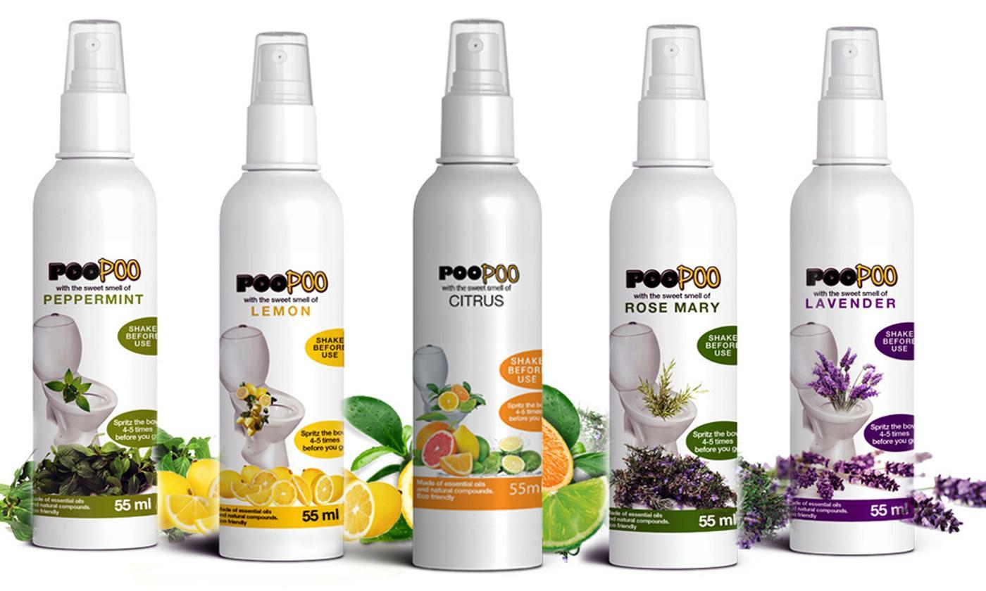One or Three Poo Poo Toilet Sprays