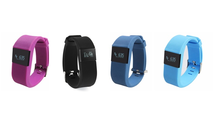 Bluetooth Fitness and Sleep Tracker with LED Display