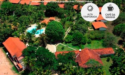 Rio Formoso/PE: 1, 2, 3 ou 5 noites para 2 + café da manhã no Hotel Fazenda Amaragi.