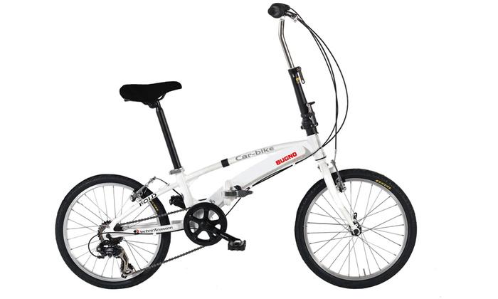 Bici Pieghevole In Alluminio.Bici Pieghevole Masciaghi Bugno Groupon Goods