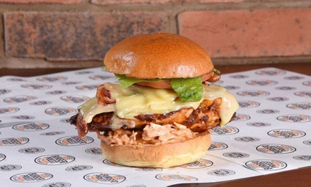 Burger, Fries and Free-Flowing Drinks for Two at The Burger Priest Chatham (Up to 46% Off)