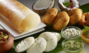 Sahana South Indian Restaurant: 2-Course Lunch or Dinner for 2 ($30), 4 ($59) or 6 People ($85) at Sahana South Indian Restaurant (Up to $166.50 Value)