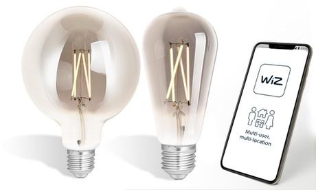 1 o 2 bombillas de filamento LED